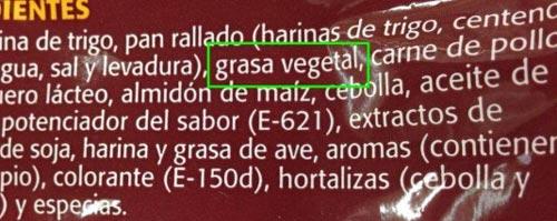 Grasa-vegetal