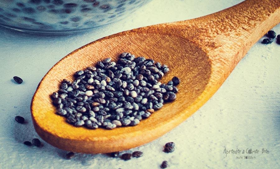Semillas contienen grasas saludables