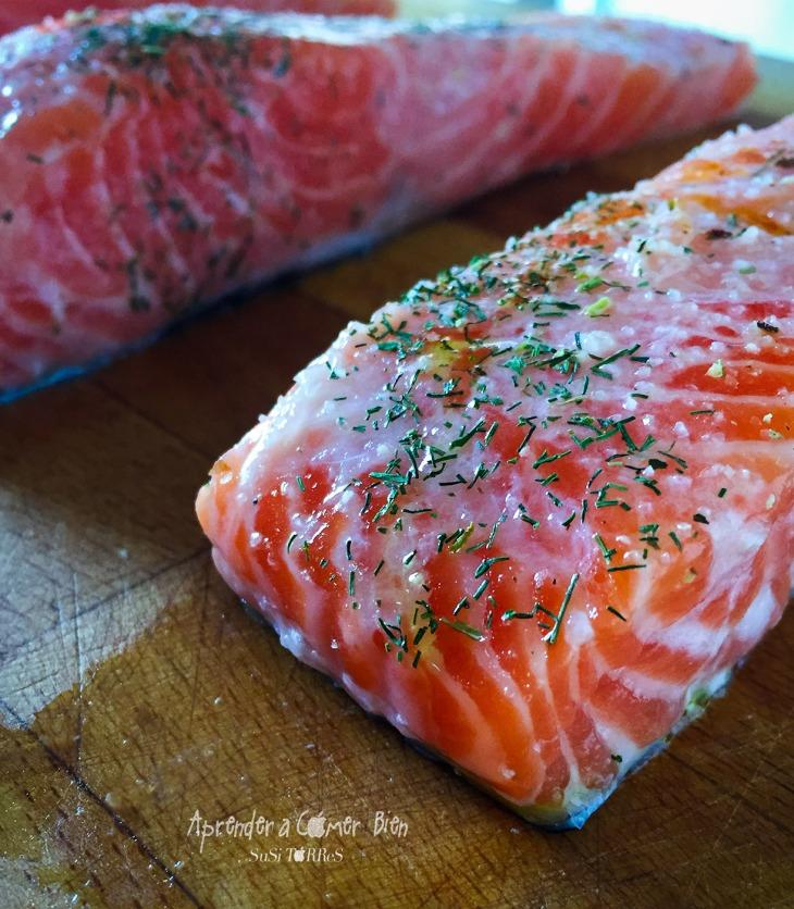 Salmón saludable, un pescado con gran cantidad de buenos nutrientes